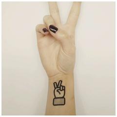 Tattoo personnalisé lancement marque