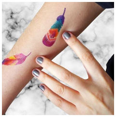 Tatouage personnalisé couleur