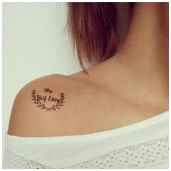 tatouage mariage noir